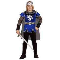 Carnaval kostuum kind - Lier - verkleedkledij kinderen - fantasiefiguur - sprookjesfiguur - koning - prins - ridder - kroon