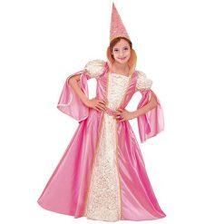 Carnaval kostuum kind - Lier - verkleedkledij kinderen - fantasiefiguur - sprookjesfiguur - Princess - prinses - roze kleed
