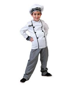 Carnaval kostuum kind - Lier - beroep - verkleedkledij kinderen - restaurant - Remy - kokspakje - koken