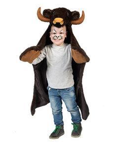 Carnaval kostuum kind - Lier - verkleedkledij kinderen - dieren - peuter - baby - kind - speeldeken - dierentuin - bizon