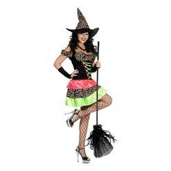 Halloween kostuum - Lier - verkleedkostuums - verkleedkledij volwassenen - griezelen - heksen - bezems - hekserij