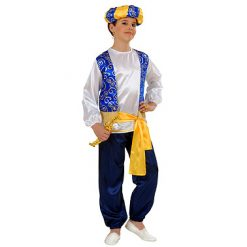 Carnaval kostuum kind - Lier - verkleedkledij kinderen - fantasiefiguur - sprookjesfiguur - aladdin - prins - Disney - tulband