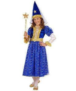 Carnaval kostuum kind - Lier - verkleedkledij kinderen - sprookjesfiguur - Princess - prinses - blauw prinsessenkleed