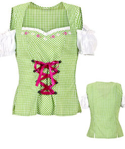 Tiroler blouse dames - Après ski - Lier - Oktoberfest kleding - bavarian - oostenrijk - duitsland - bierfeest