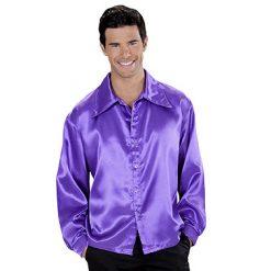 Lier - jaren 60 - 60's - jaren 70 - 70's - disco - studio 54 - glitter - glamour - puntkragen - paars hemd - gekleurd hemd