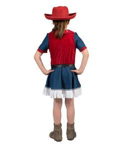 Lier - Verkleedkledij kinderen - verkleedkostuum - western - cowgirl - cowboyhoed - saloon - kleedje - Jessie Toy Story kostuum