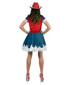 Lier - Verkleedkledij volwassenen - verkleedkostuum - western - cowgirl - cowboyhoed - saloon - kleedje - Jessie Toy Story kostuum