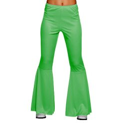 Lier - jaren 70 - 70's - jaren 60 - 60's - disco - olifantenpijpen - studio 54 - Fun-Shop - hippie - flower power - groene broek