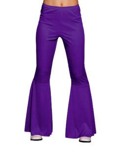 Lier - jaren 70 - 70's - jaren 60 - 60's - disco - olifantenpijpen - studio 54 - Fun-Shop - hippie - flower power - paarse broek