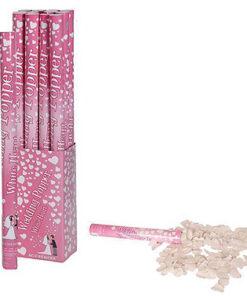 Lier - Verjaardag - Nieuwjaar - Huwelijk - Kerstmis - party kanon - confetti kanon - shooter - gekleurde snippers - witte hartjes