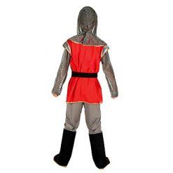 Carnaval kostuum kind - Lier - verkleedkledij kinderen - kasteel - middeleeuwse ridder - ridderhelm - zwaard
