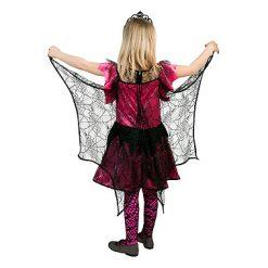 Halloween kostuum - Lier - verkleedkostuum - verkleedkledij kinderen - griezelen - spinnenweb - girl - spiderlady - spin - heks