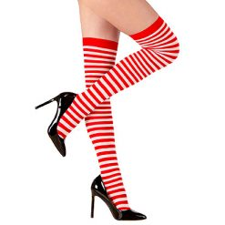 Lier - Halloween - Carnaval - Kerstmis - beenmode - sokken - panty - gestreepte kousen - Oktoberfest - Kerstelf - kamping kitsch