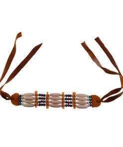 Lier - accessoire - carnaval - kinderen - volwassenen - western - indianen - sieraden - themafeest - squaw - country