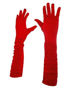 Lier - Kerstmis - Halloween - Charleston - jaren 20 - flapper - lange handschoenen - gala - hollywood - elleboog