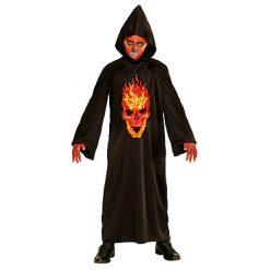 Halloween kostuum - Lier - verkleedkostuums - verkleedkledij kinderen - griezelen - duivel - vuur - devil - fire