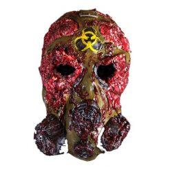 Lier - Carnaval - Halloween - schedel - skull - bloed - creepy - gasmasker - halloween gezicht - gezichtsmasker