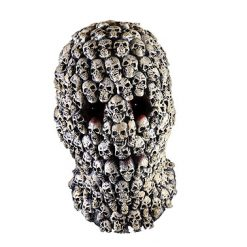 Lier - Carnaval - Halloween - gezichtsmasker - schedels - skull - day of the dead - dia de los muertos