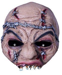 Lier - Carnaval - Halloween - horror - half gezichtsmasker - griezelig masker - barbed - griezel