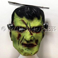 Lier - Carnaval - Halloween - gezichtsmasker - soepele latex - dokter frankenstein - filmfiguur