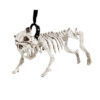 Halloween decoratie - Lier - skelet - geraamte - bulldog - dog - halloween hond