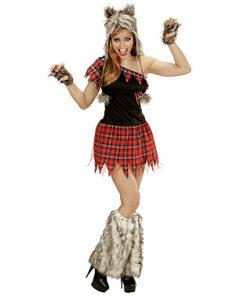 Halloween kostuum - Lier - verkleedkostuum - verkleedkledij volwassenen - griezelen - wolf - dieren - werewolf - carnaval