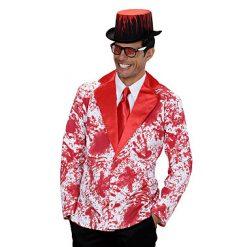 Halloween kostuum - Lier - verkleedkostuums - verkleedkledij volwassenen - griezelen - bloed - bloedspatten - jacket - bloederig