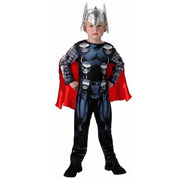 Carnaval kostuum kind - Lier - verkleedkledij kinderen - Filmfiguur - Marvel comics - superheld - onesie - dondergod - hamer