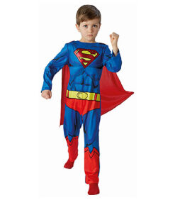 Carnaval kostuum kind - Lier - verkleedkledij kinderen - filmfiguur - DC Comics - Man van staal - superheld - Clark Kent