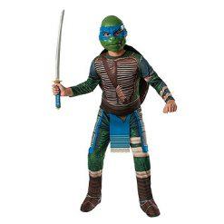 Carnaval kostuum kind - Lier - verkleedkledij kinderen - Turtles - TMNT - filmfiguur - schildpad - Michelangelo - Donatello