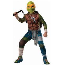 Carnaval kostuum kind - Lier - verkleedkledij kinderen - Turtles - TMNT - filmfiguur - schildpad - Leonardo - Donatello