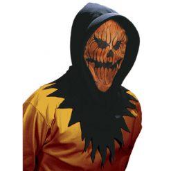 Halloween accessoires - Lier - masker - hoodie - pompoen - griezel - mask - carnaval - doorkijken
