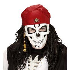 Lier - Carnaval - Halloween - horror - filmpersonage - griezel masker - piraat - schedel - bandana