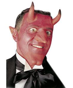 Halloween accessoires - Lier - special effects - special FX - hoorntjes - puntoren - duivel gezicht set - devil face