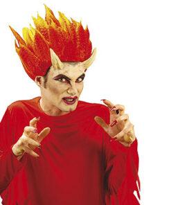 Halloween accessoires - Lier - special effects - special FX - hoorntjes - duivel gezicht set - devil face