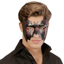 Lier - Carnaval - Halloween - griezelen - half gezichtsmasker - oogmasker - vampier - bat - batman - batgirl