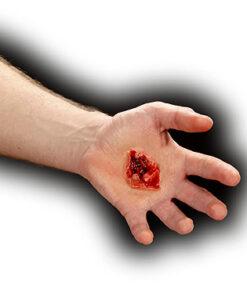 Halloween accessoires - Lier - bloed - special effects - film - televisie - theater - nepwonde - special FX - schotwonde