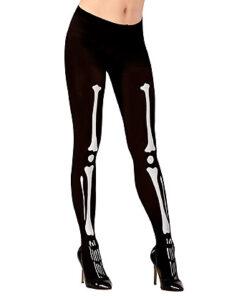 Lier - Carnaval - Halloween - beenmode - legging - beenderen - bones - geraamte