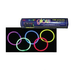 Lier - Carnaval - blacklight - Halloween - Nieuwjaar - neon fluo - glow in the dark - armband - halsketting - lichtgevend