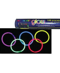 Lier - Carnaval - blacklight - Halloween - Nieuwjaar - neon fluo - glow in the dark - armband - halsketting - lichtgevend