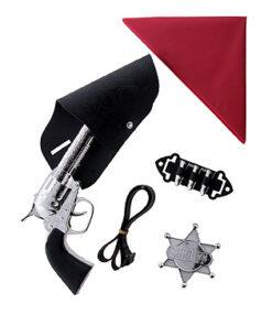 Lier - Carnaval - Western - cowboys - pistool - speelgoed geweer - gun - revolver - cowgirl - themafeest - houder pistool - bandana