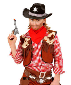 Lier - Carnaval - Western - cowboys - pistool - speelgoed geweer - knal effect - gun - revolver - cowgirl - themafeest