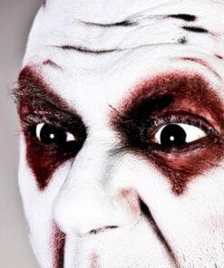 Lier - Carnaval - Halloween - contactlenzen - kleurlenzen - gekleurde lenzen - zwart oog - black eye - heks - hekserij - voodoo