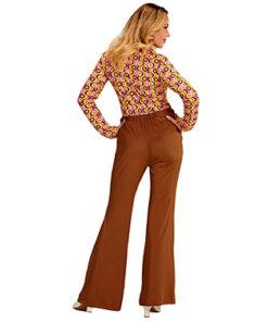 Lier - jaren 70 - 70's - olifantenpijpen - bruine broek - disco - groovy - Fun-Shop - puntkragen - retro - studio 54