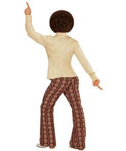 Lier - jaren 70 - 70's - olifantenpijpen - ecru hemd - disco - groovy - Fun-Shop - puntkragen - retro - studio 54