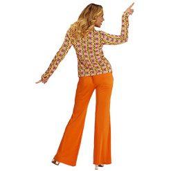 Lier - jaren 70 - 70's - flower power - gekleurd hemd - disco - groovy - Fun-Shop - puntkragen - retro - studio 54