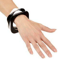 Armbandretrozwartwit1