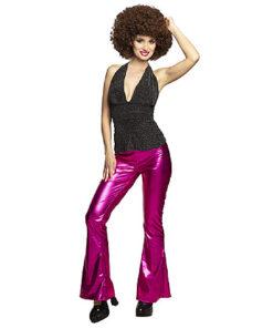 Lier - jaren 70 - 70's - jaren 60 - 60's - disco - olifantenpijpen - studio 54 - Fun-Shop - hippie - flower power - roze broek
