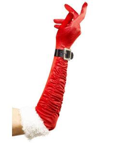 Lier - Kerstmis - Kerst kostuums - themafeest - Merry Christmas - handschoen - Kerstvrouw - elegant - ruffle