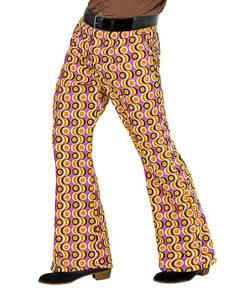 Lier - jaren 70 - 70's - olifantenpijpen - gekleurde broek - disco - groovy - Fun-Shop - puntkragen - glitter & glamour - studio 54